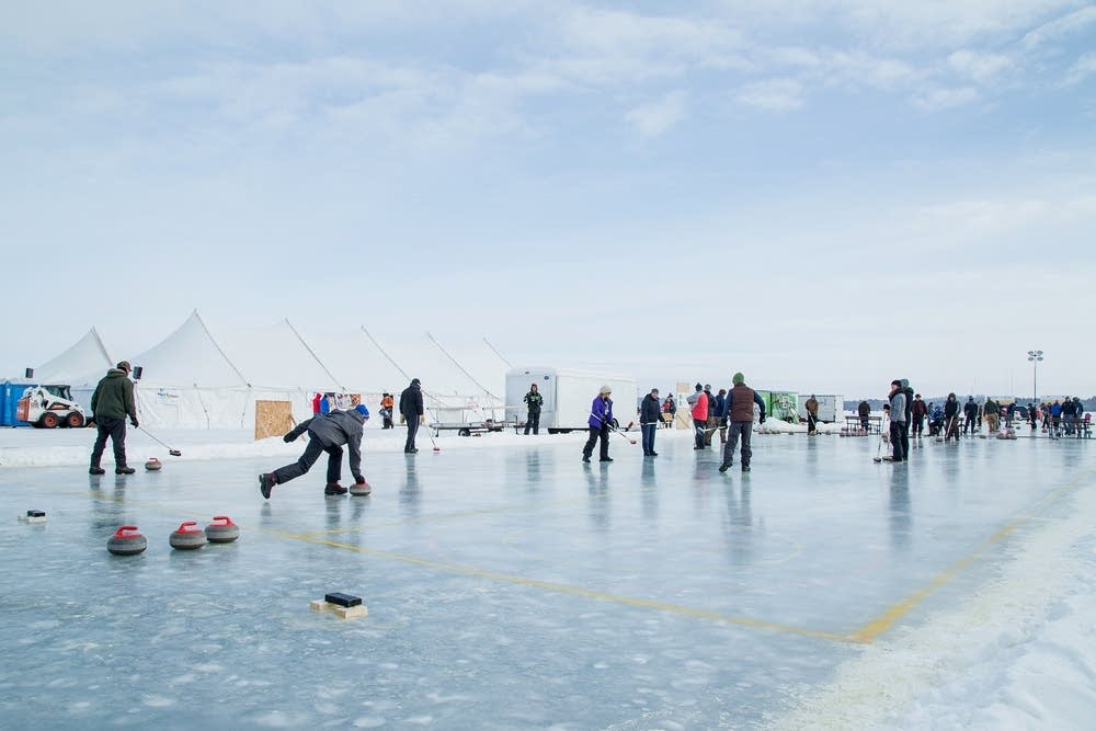 Curling Bonspiel on the Lake Bemidji