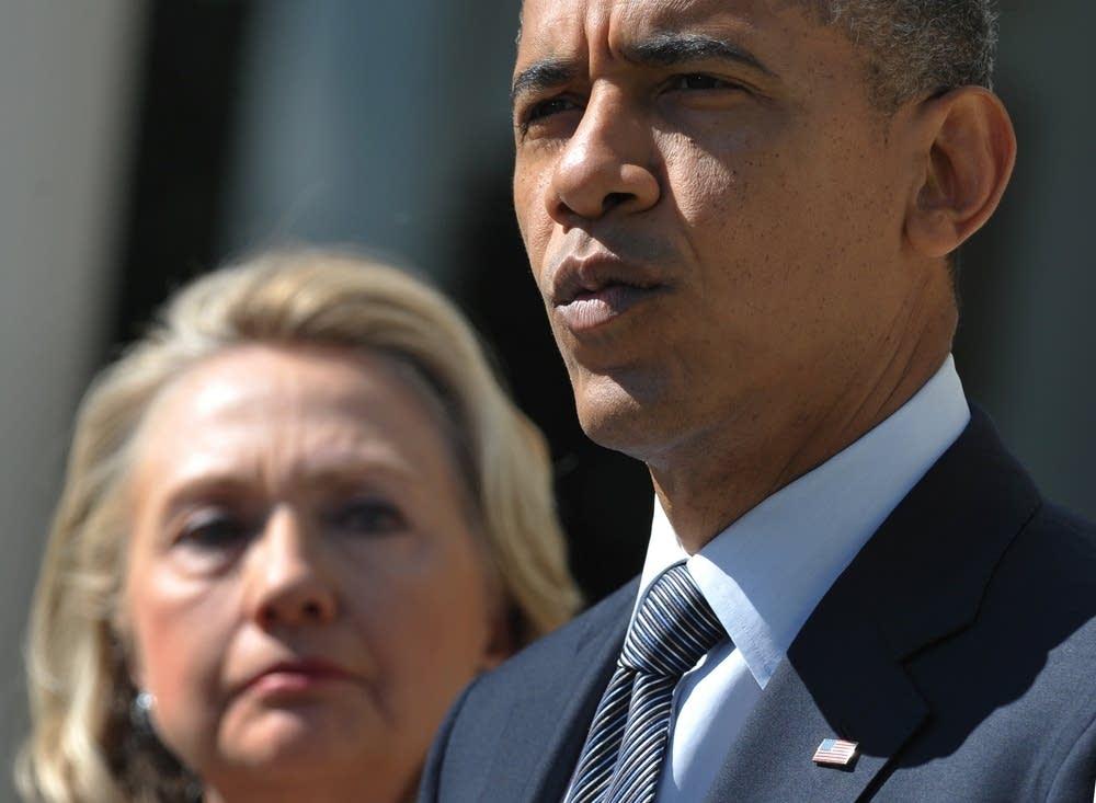 Obama, Clinton
