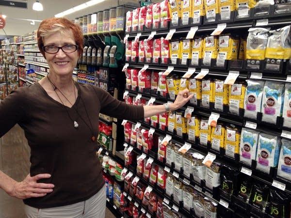 Jo Ann Hendricks now shops other stores more.