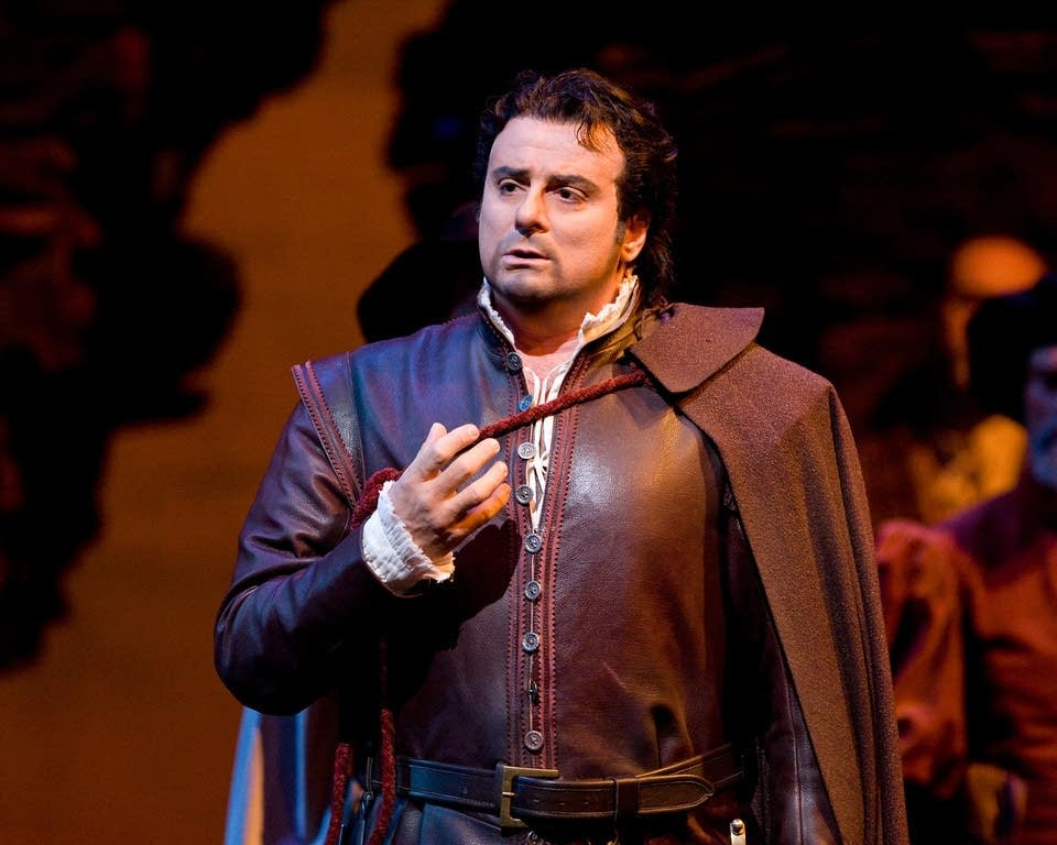 Marcello Giordani in the title role