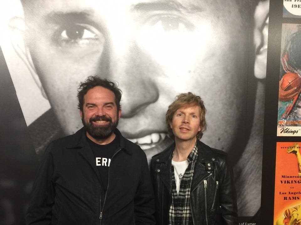 Brian Oake and Beck