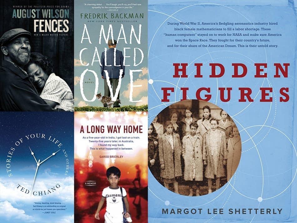 Books behind 2017 Oscar nominees