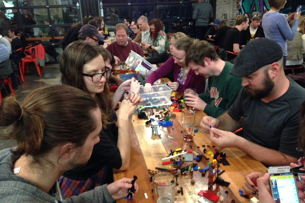 The Grown-Up Club's recent Lego event