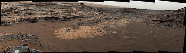 Marias Pass, Mars