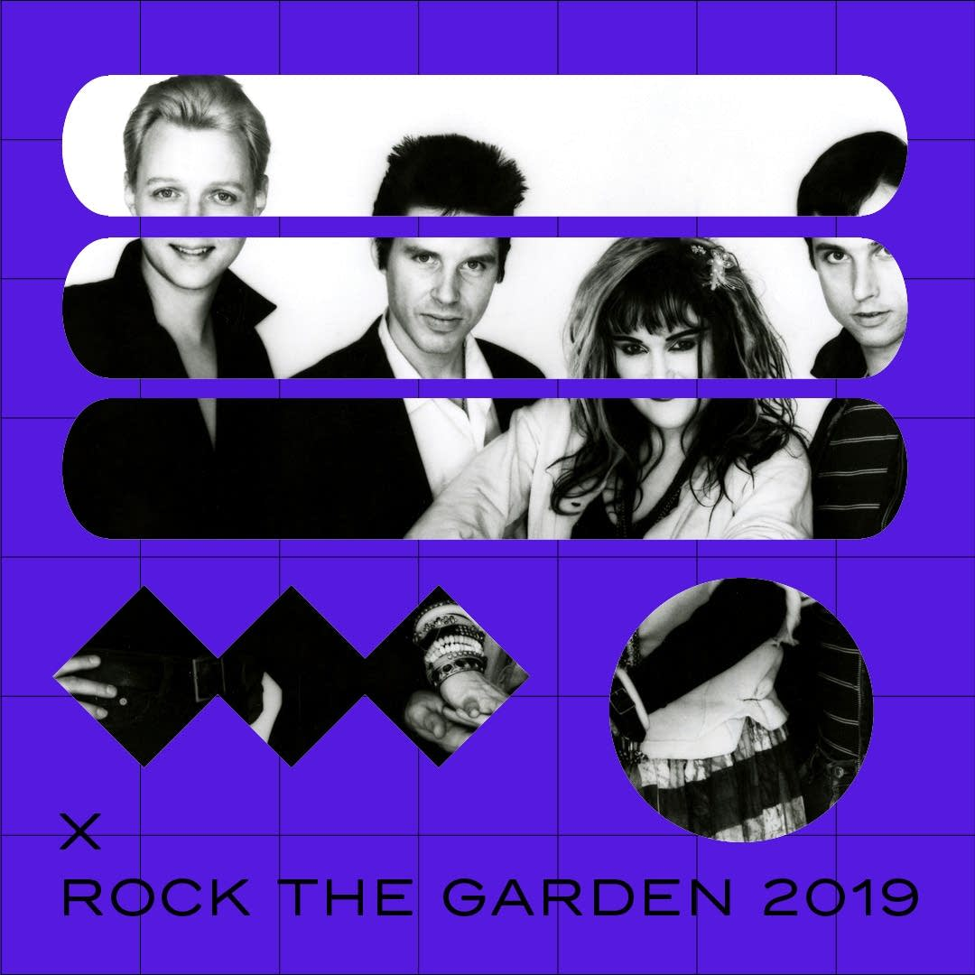 X will play Rock the Garden 2019