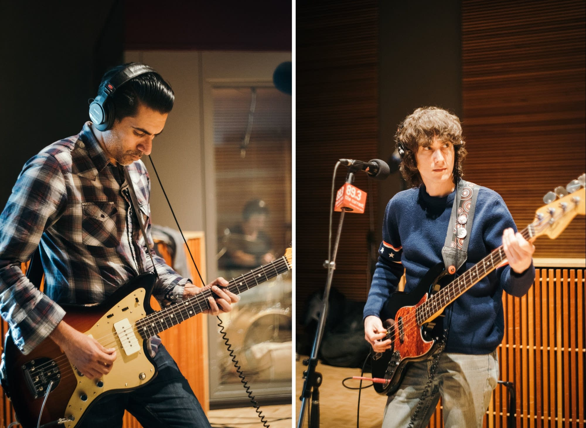 Lead guitarist Arun Bali and bassist Will Berman