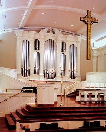 2003 Goulding & Wood organ at Preston Hollow Presbyterian, Dallas, TX