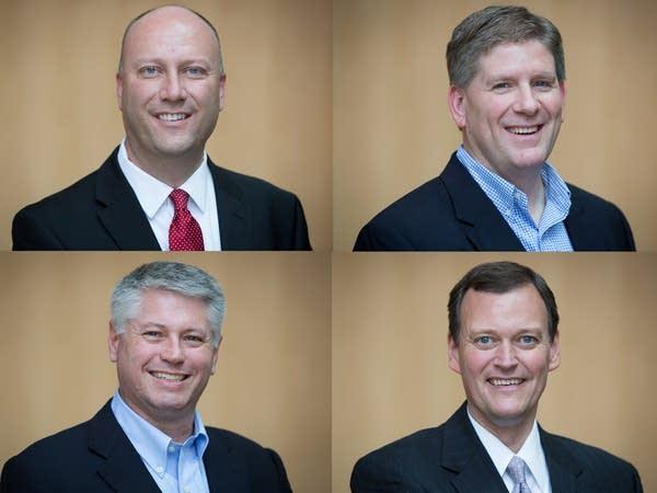 The four GOP gubernatorial candidates