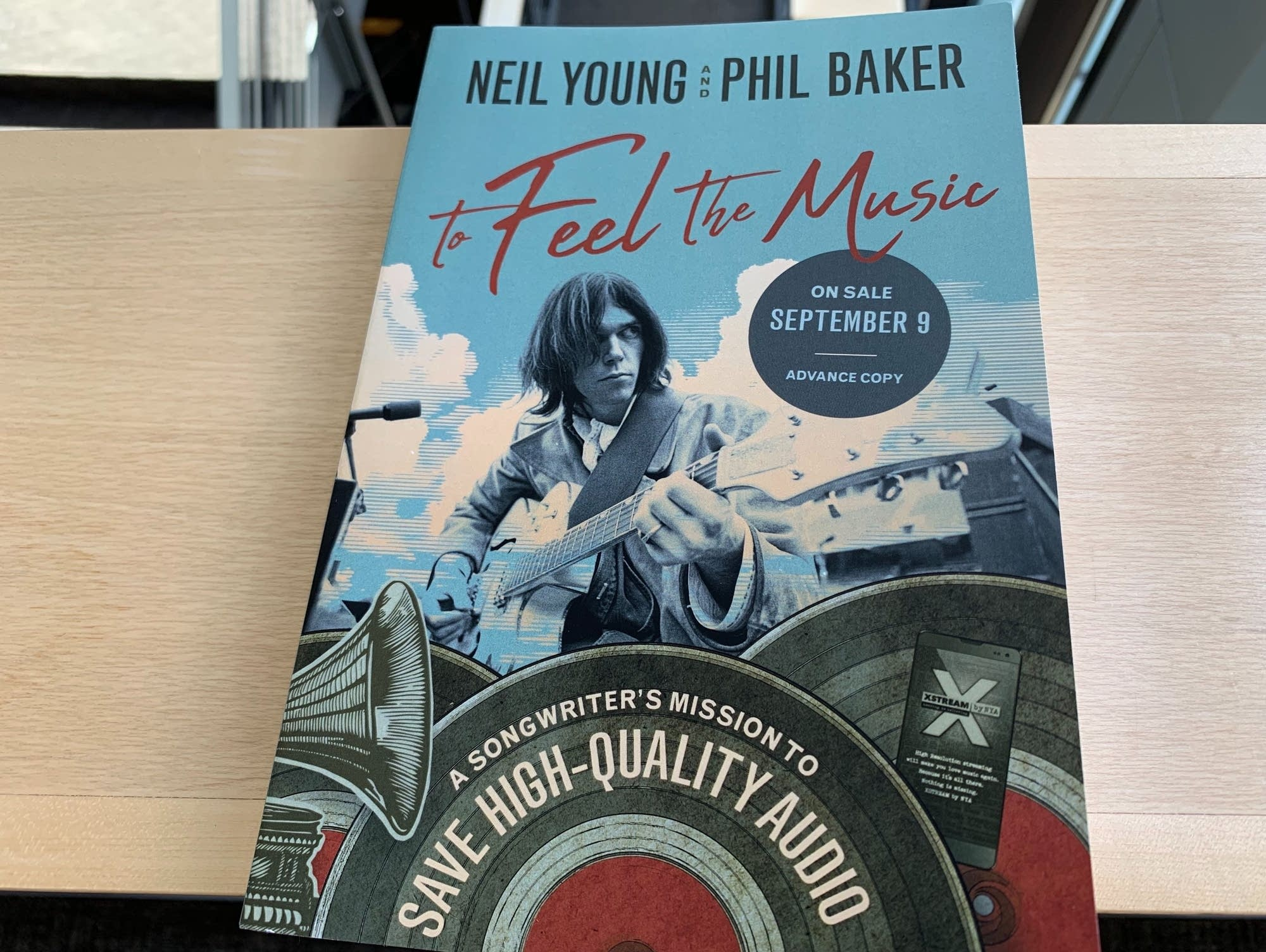 'To Feel the Music,' a book by Neil Young and Phil Baker.