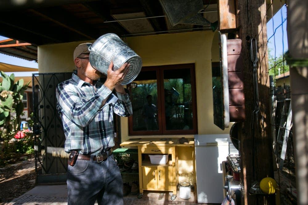 Potable rainwater