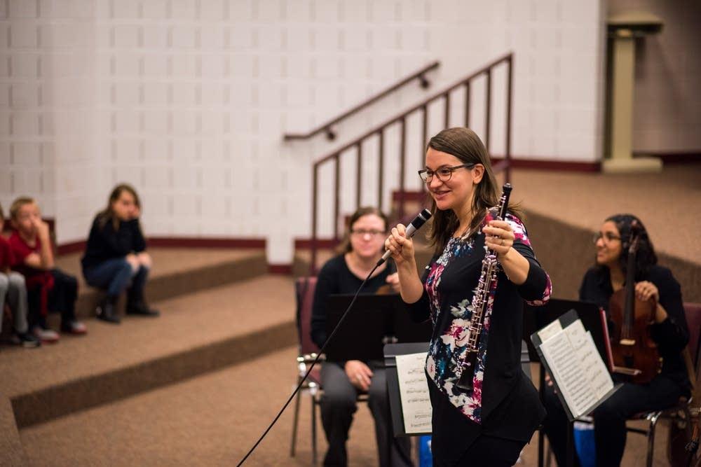 crystal harris oboe