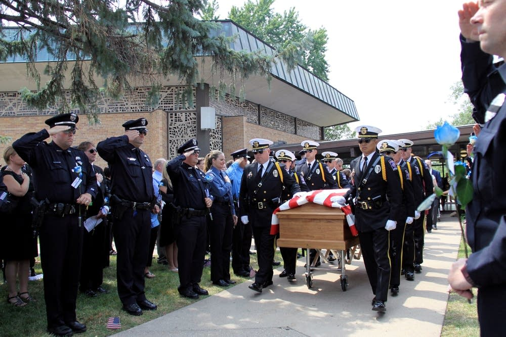 Patrick's casket