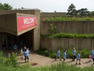 Visitor center at Historic Fort Snelling