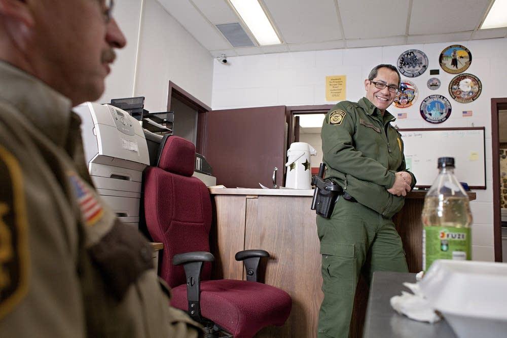 Regalado and a deputy