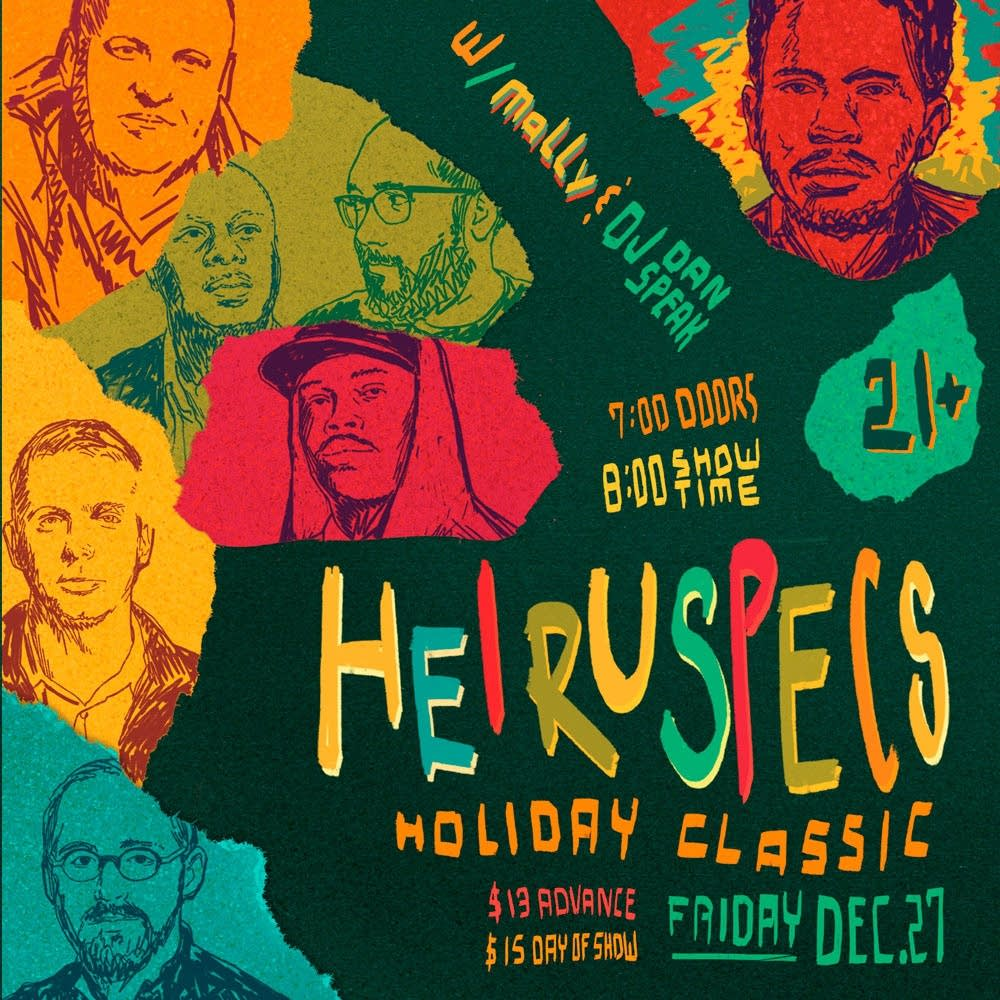 heiruspecs holiday classic show poster