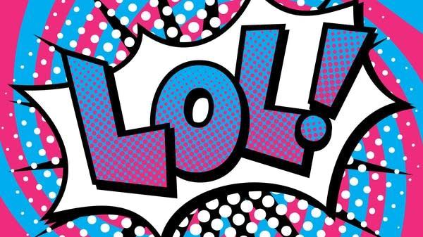Pop Art LOL! Text Design