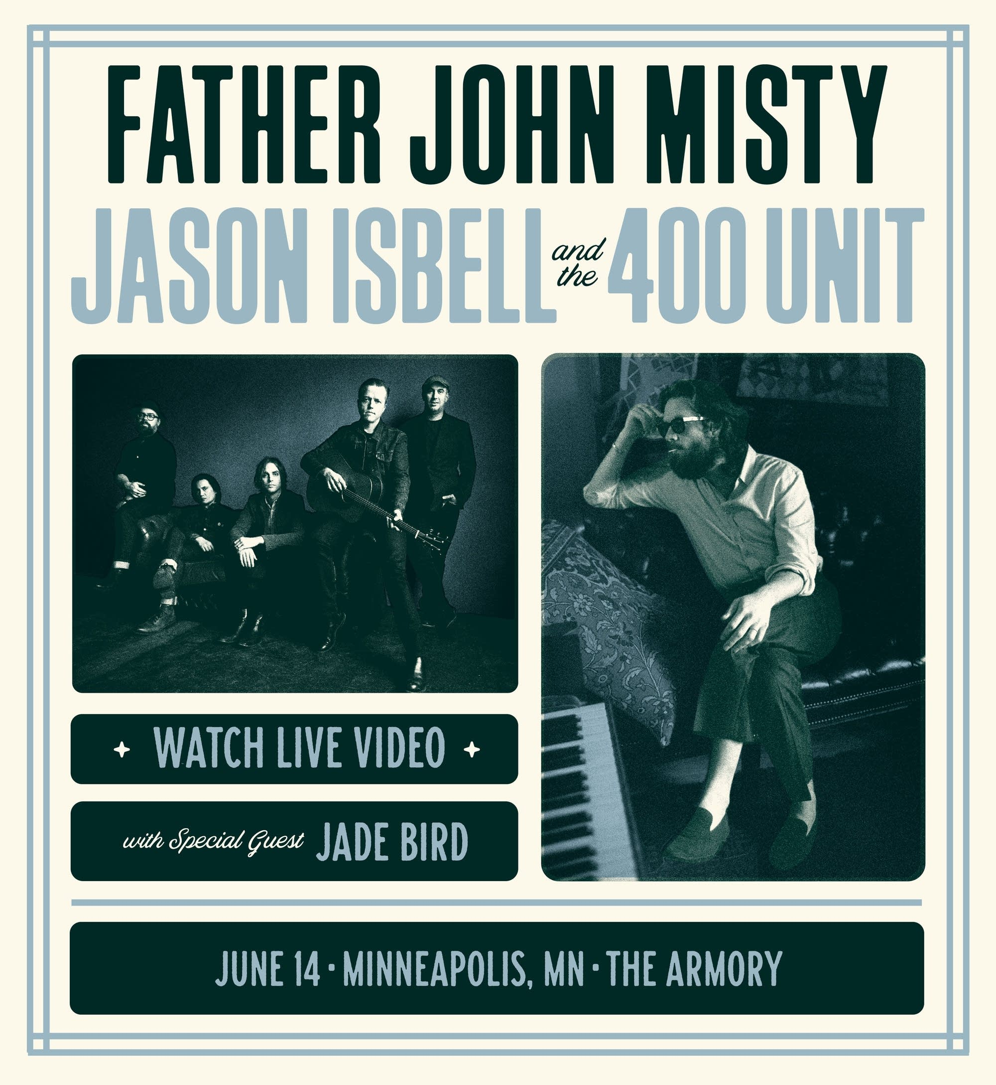 Father John Misty, Jason Isbell and Jade Bird