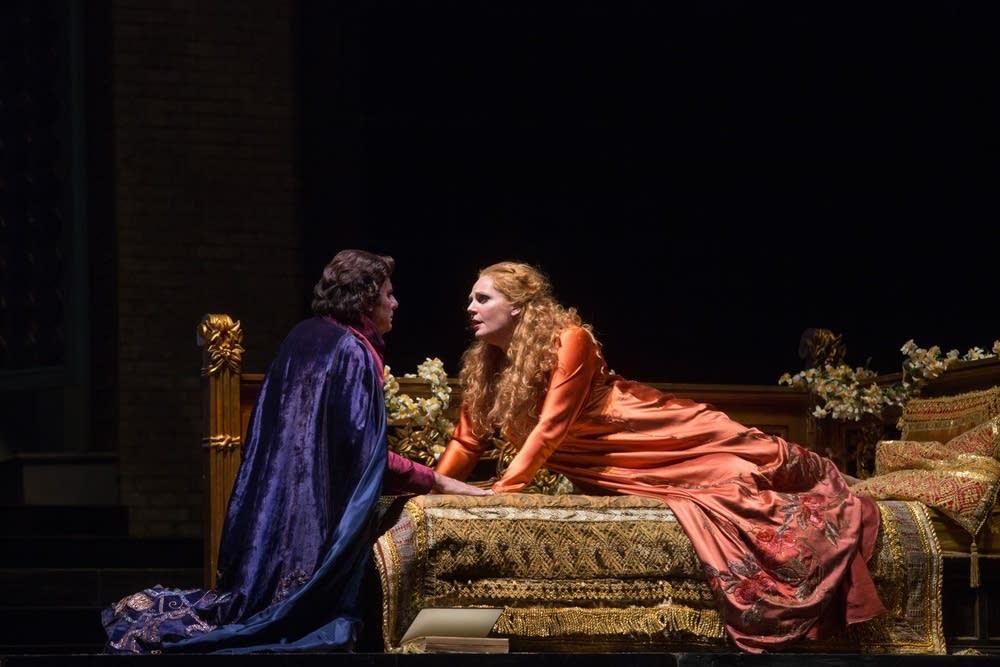 A scene from Zandonai's Francesca da Rimini