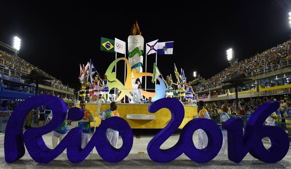 The Rio 2016 Olympic sign