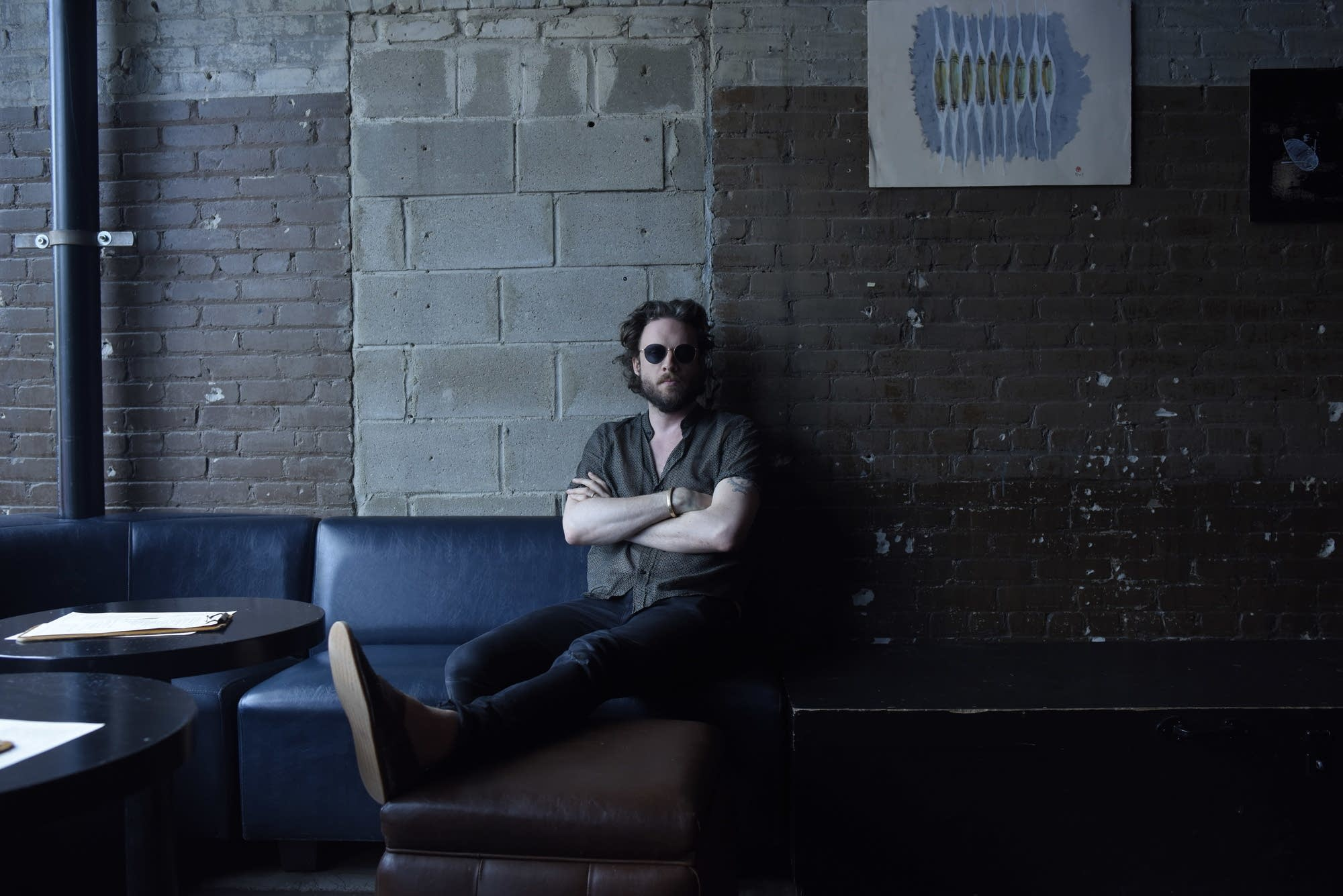 Father John Misty portraits at Icehouse