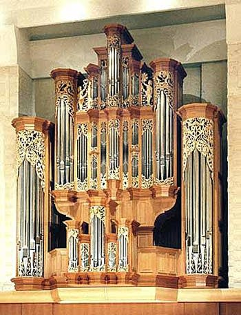 1998 Fritts organ at Pacific Lutheran University, Tacoma, Washington