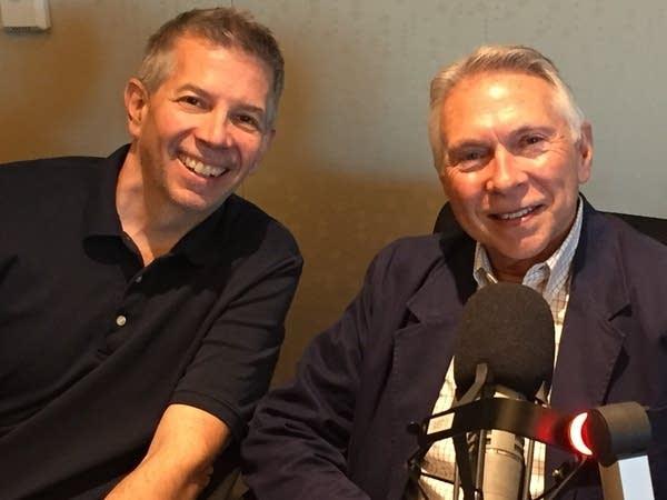 Steve Staruch with Byron Schwab