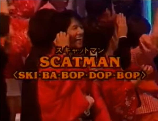 A still from Scatman John surprises impersonator (1996)