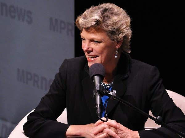 Cokie Roberts in St. Paul