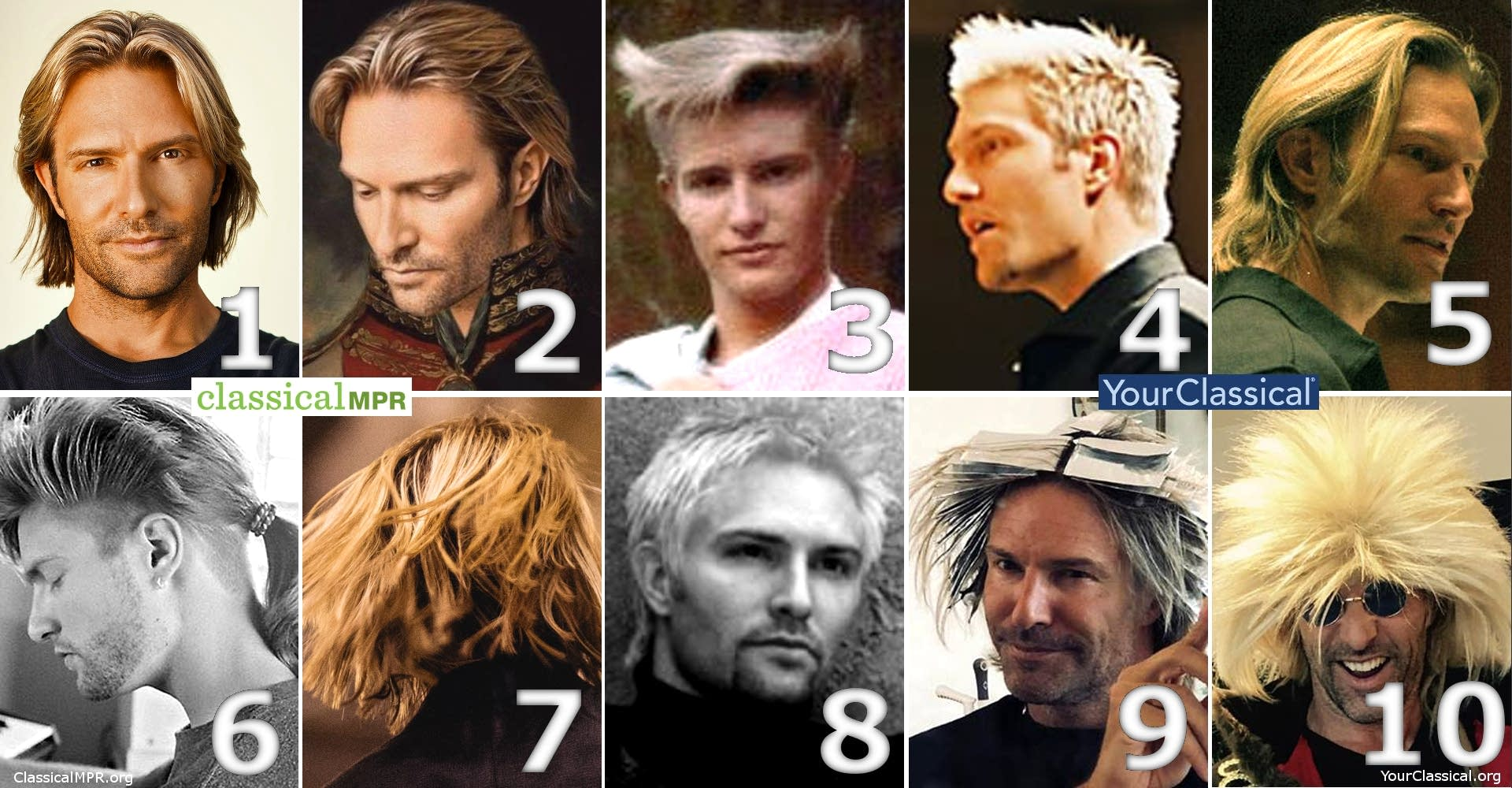 On a scale of Eric Whitacre's hair, how are you feeling today?