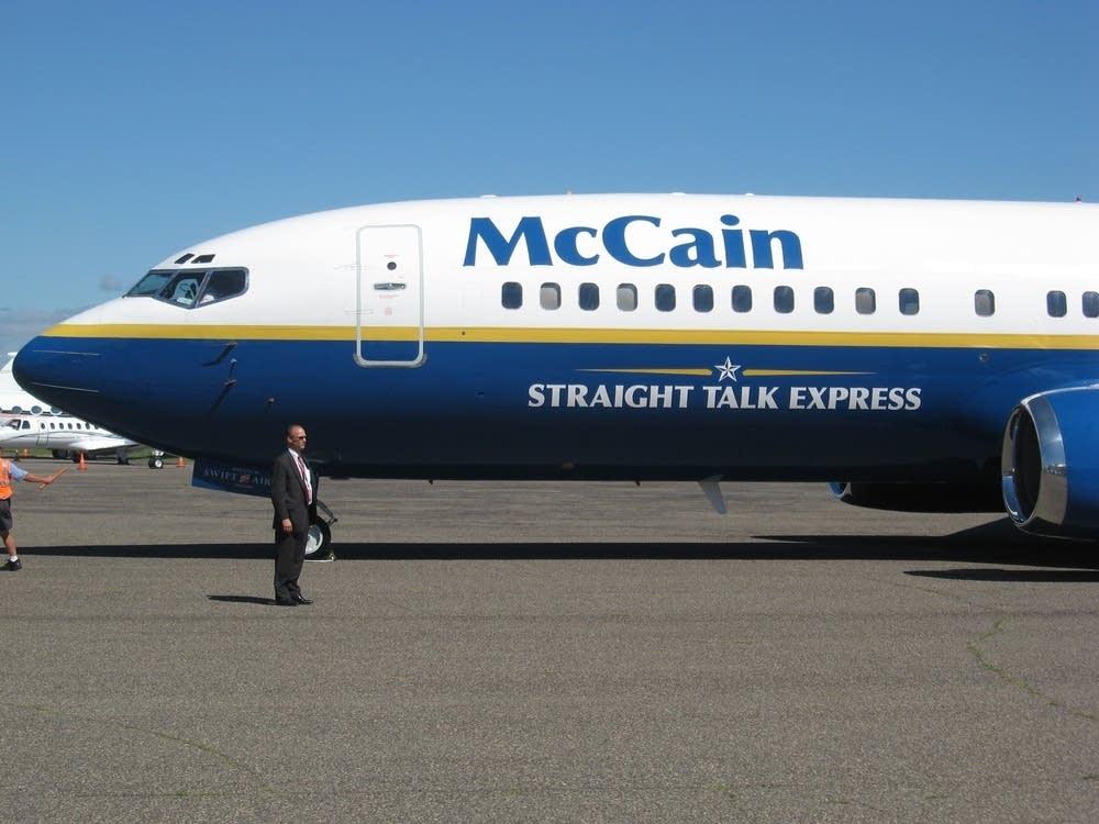 McCain's campaign plane