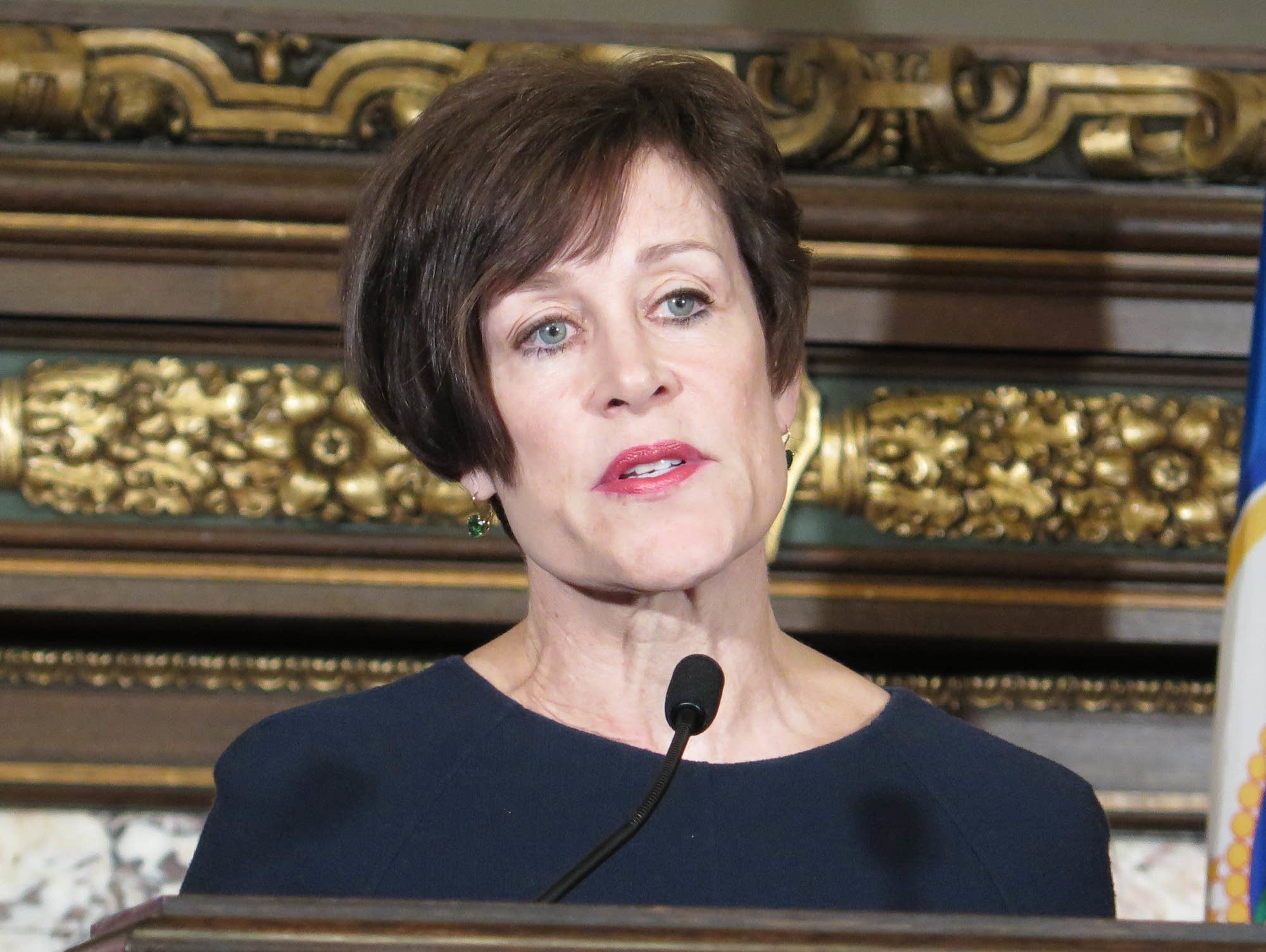 Former Supreme Court chief justice Kathleen Blatz