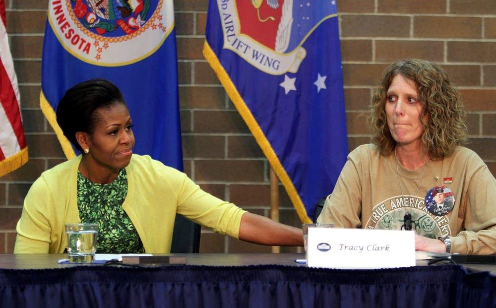 Michelle Obama visit