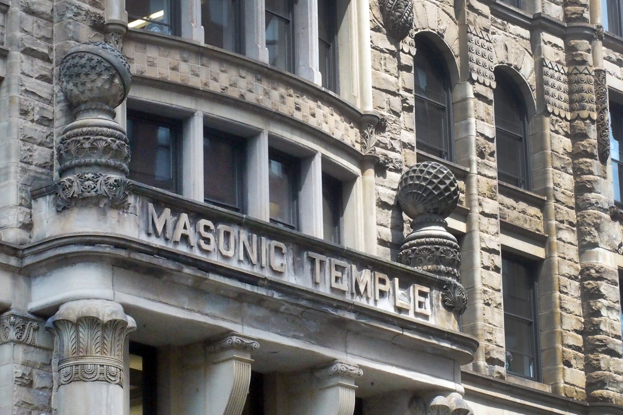 The Henn. Center for the Arts in Minneapolis is a former Masonic Temple.