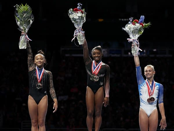 Gymnastics medal-winners