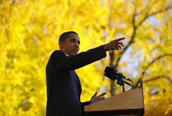 Barack Obama campaigns in Colorado