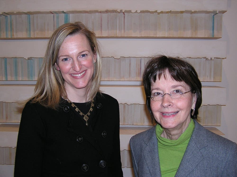 Siri Engberg and Rosemary Furtak