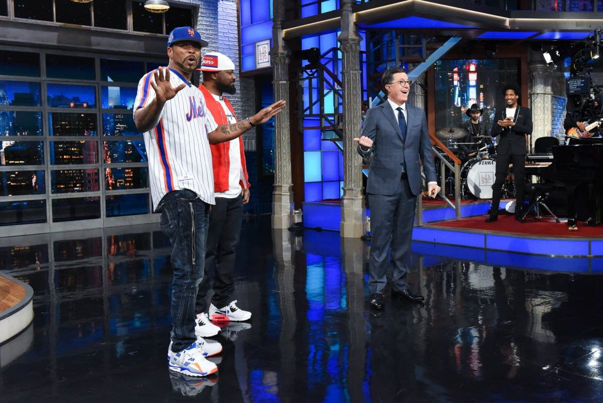 Ghostface Killah and Method Man on The Late Show with Stephen Colbert