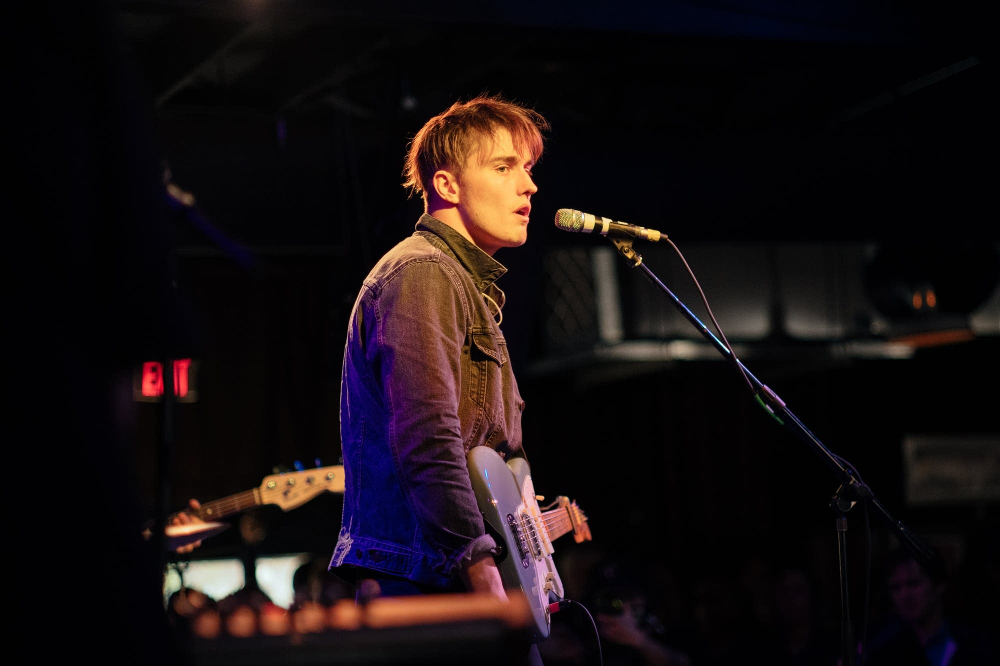 Sam Fender performs at The Current Day Party during SXSW