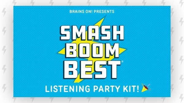 Smash Boom Best Listening Party Kit