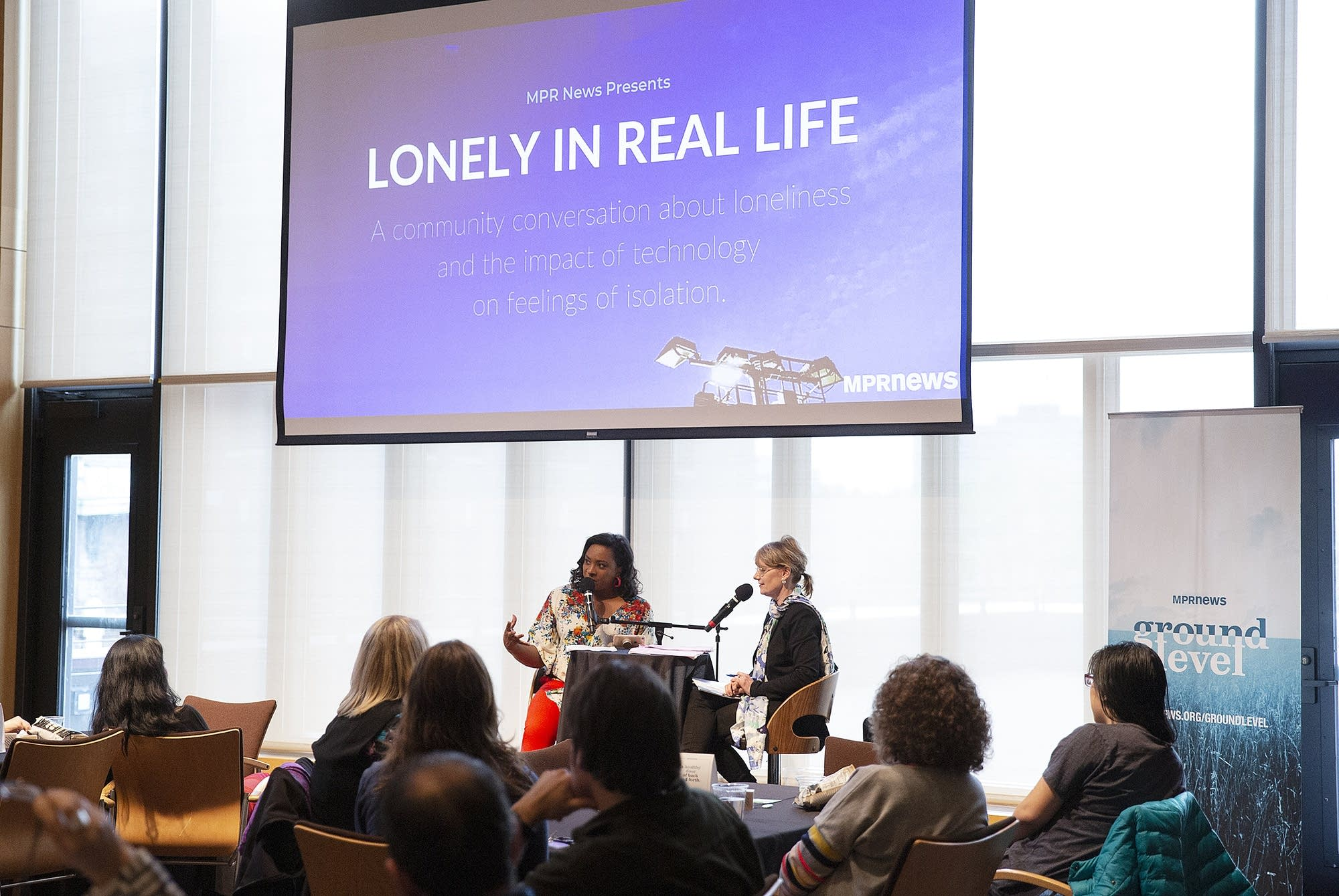 Angela Davis and Cheryl Bemel talk about loneliness and technology.