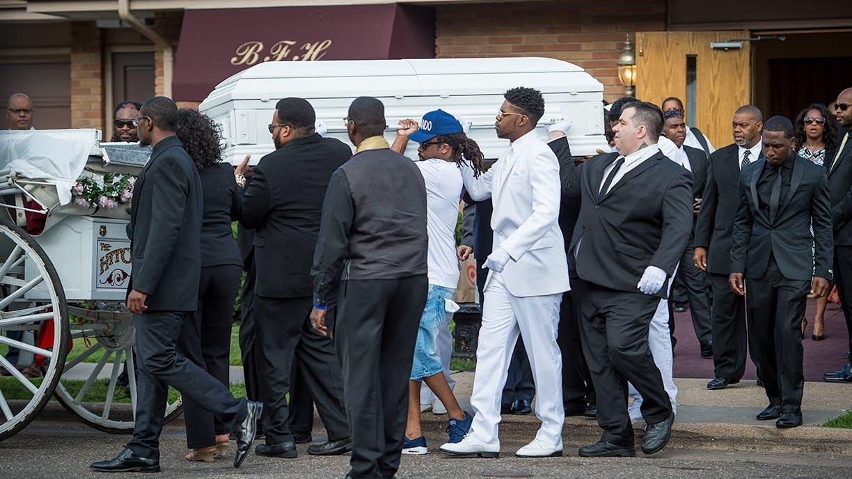 Procession for Philando Castile