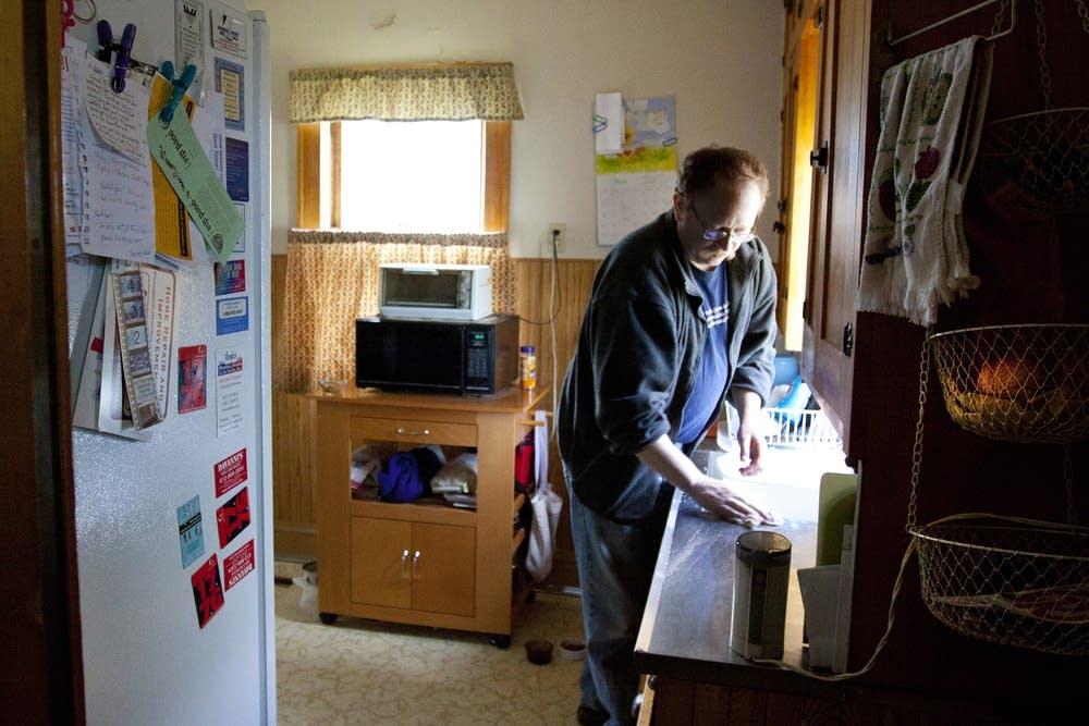 Chuck Davis at home