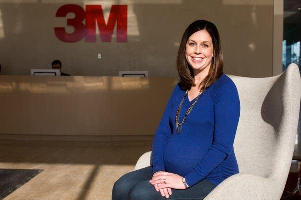 Pregnant 3M employee Meghan Keating