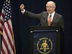 Attorney General Jeff Sessions addresses the nation's district attorneys.