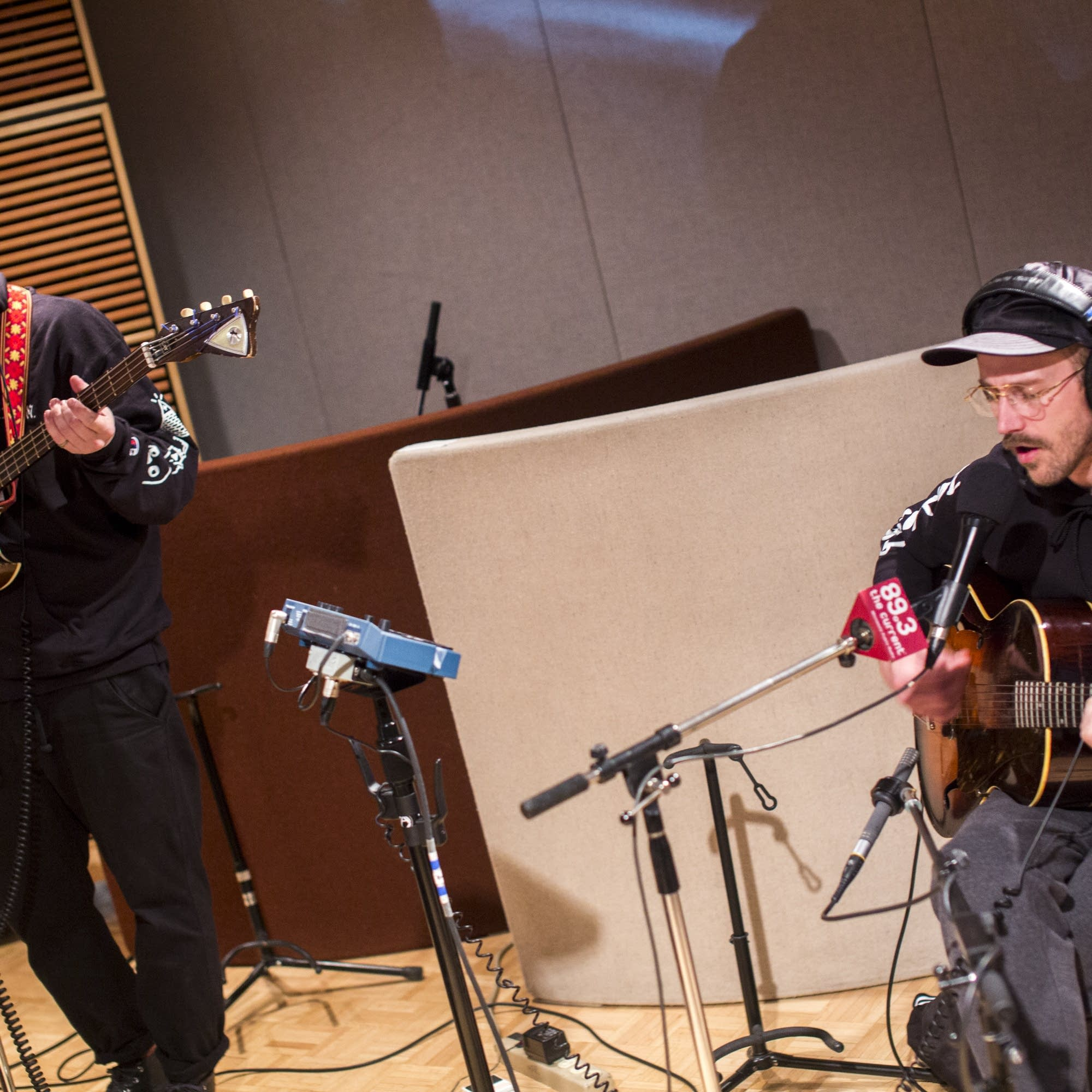Portugal the Man perform in The Current studio