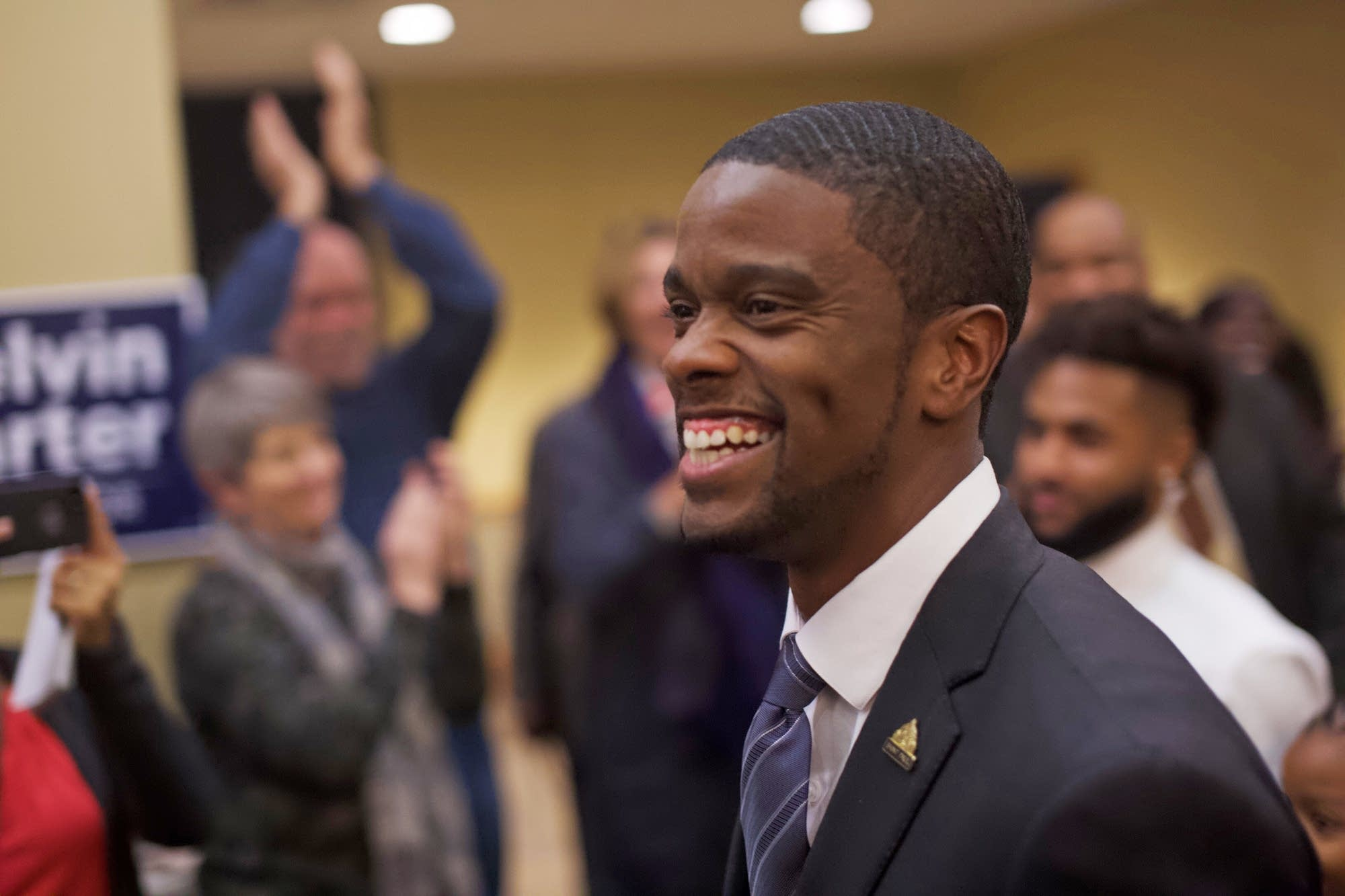 Melvin Carter elected first black mayor of St. Paul