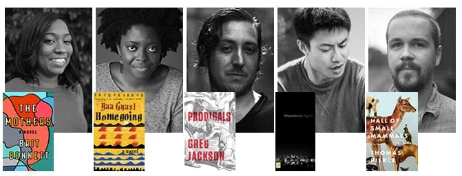 The National Book Foundation's 5 Under 35 honorees