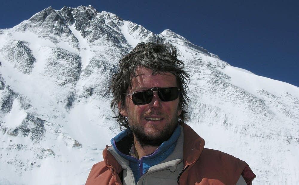 Australian climber Lincoln Hall