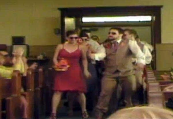 U Tube Wedding Dances.Minn Couple S Wedding Aisle Groove A Youtube Hit Mpr News