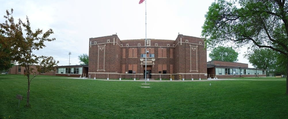 McLeod West School District's only building